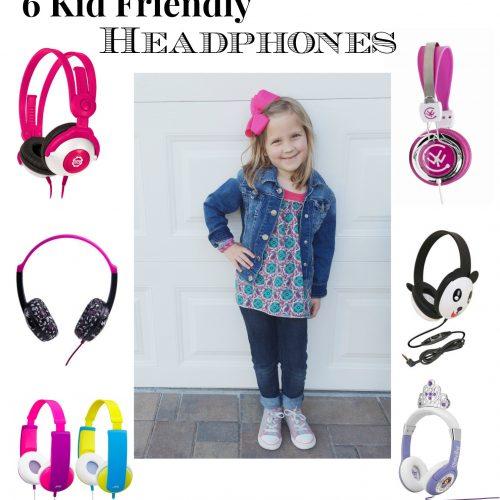 6 Kid Friendly Headphones