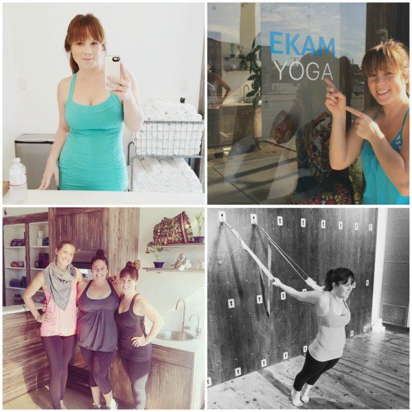 Ekam yoga collage