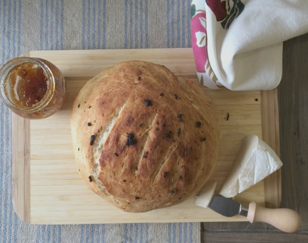 Artisan Bread with Brie Cheese