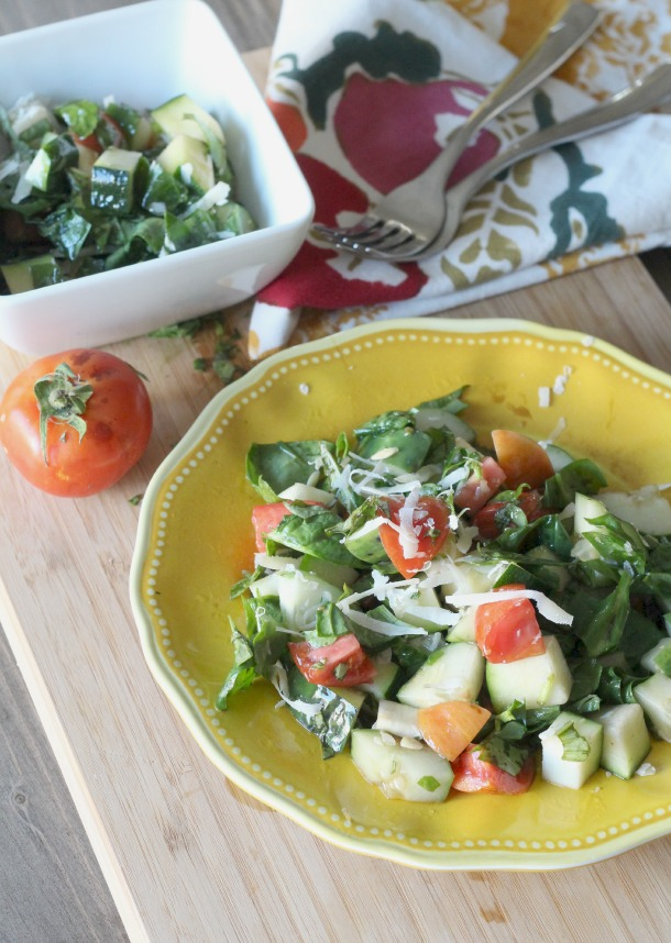 Mouthwatering Garden Salad