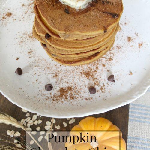 Got Milk? Pumpkin Chocolate Chip Pancakes