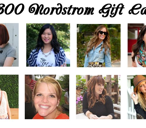 Giveaway: $300 Shopping Spree
