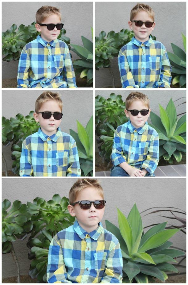 Brayden Sunglasses Collage