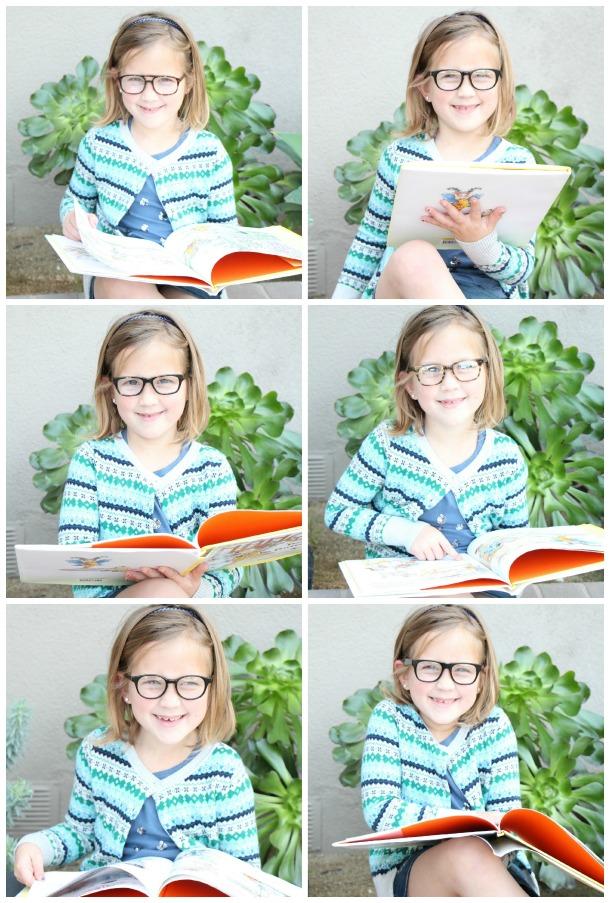Katelyn Glasses Collage