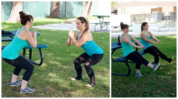 Squats Collage