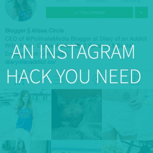 New Instagram Hack