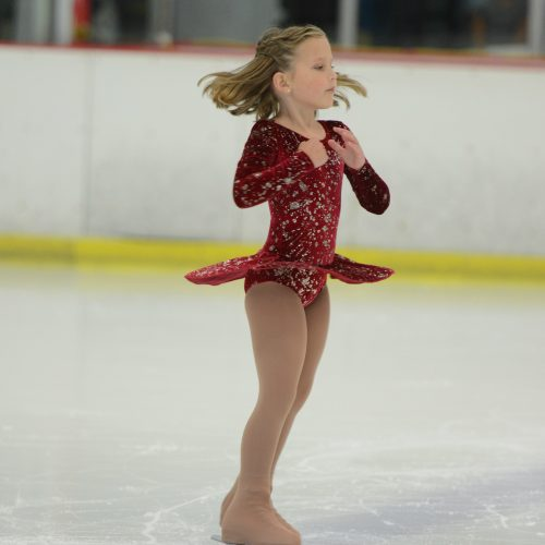 Our Little Ice Skating Princess