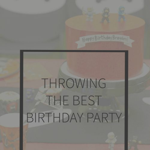 Planning the Perfect Kids Party