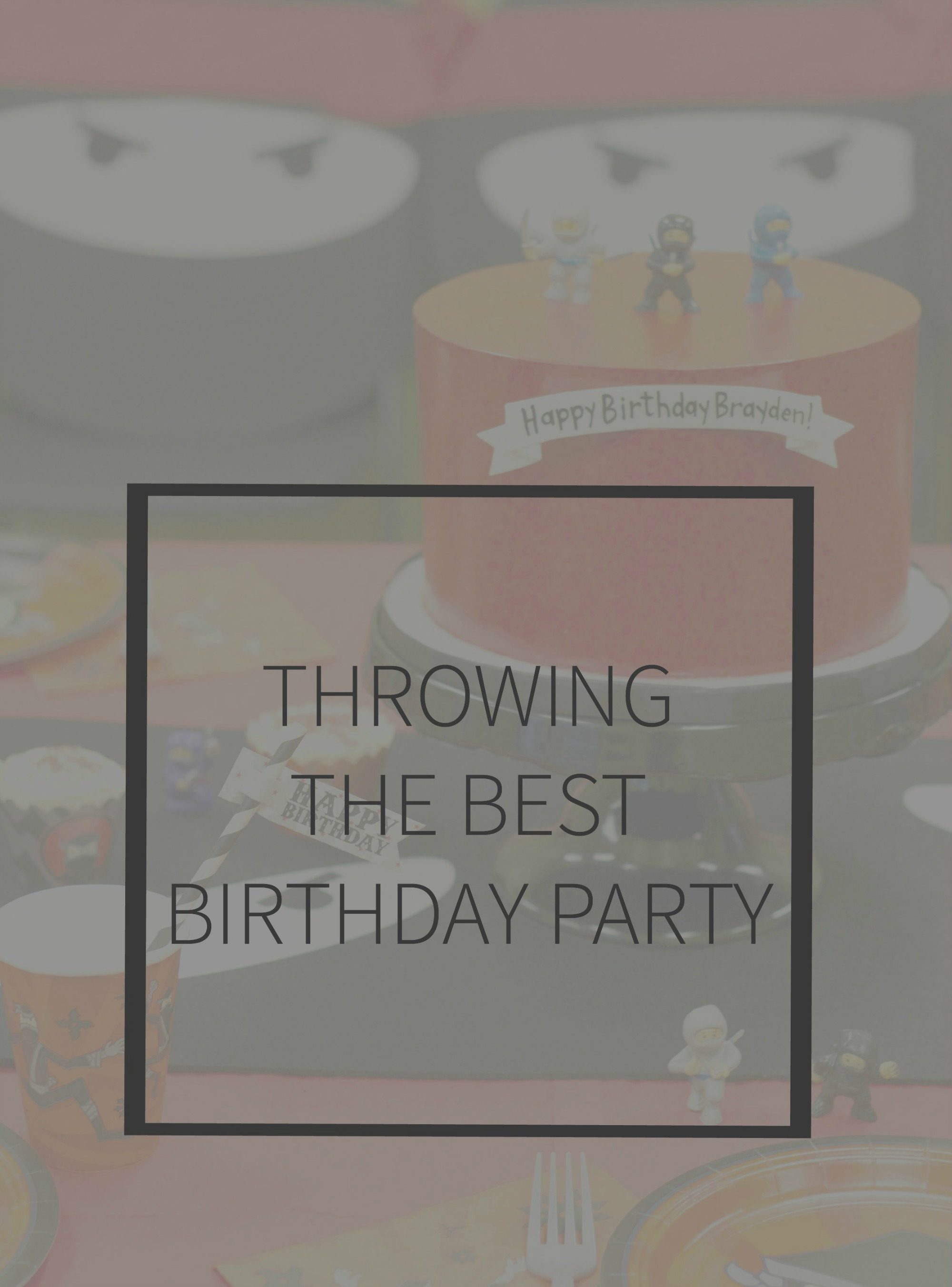Throwing the best party