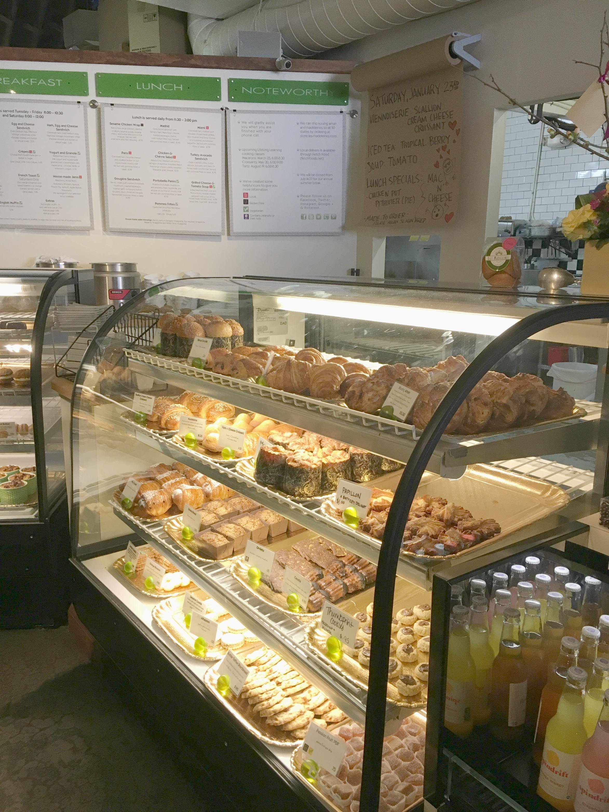 Les Madeleines Bakery