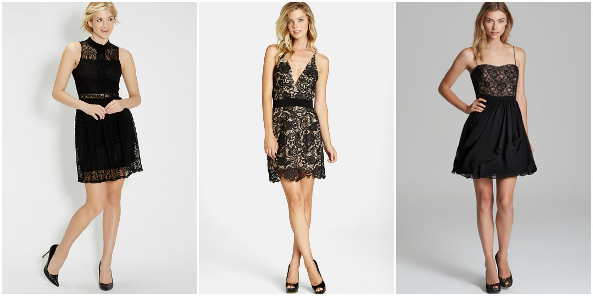 Little Black Dress Collage