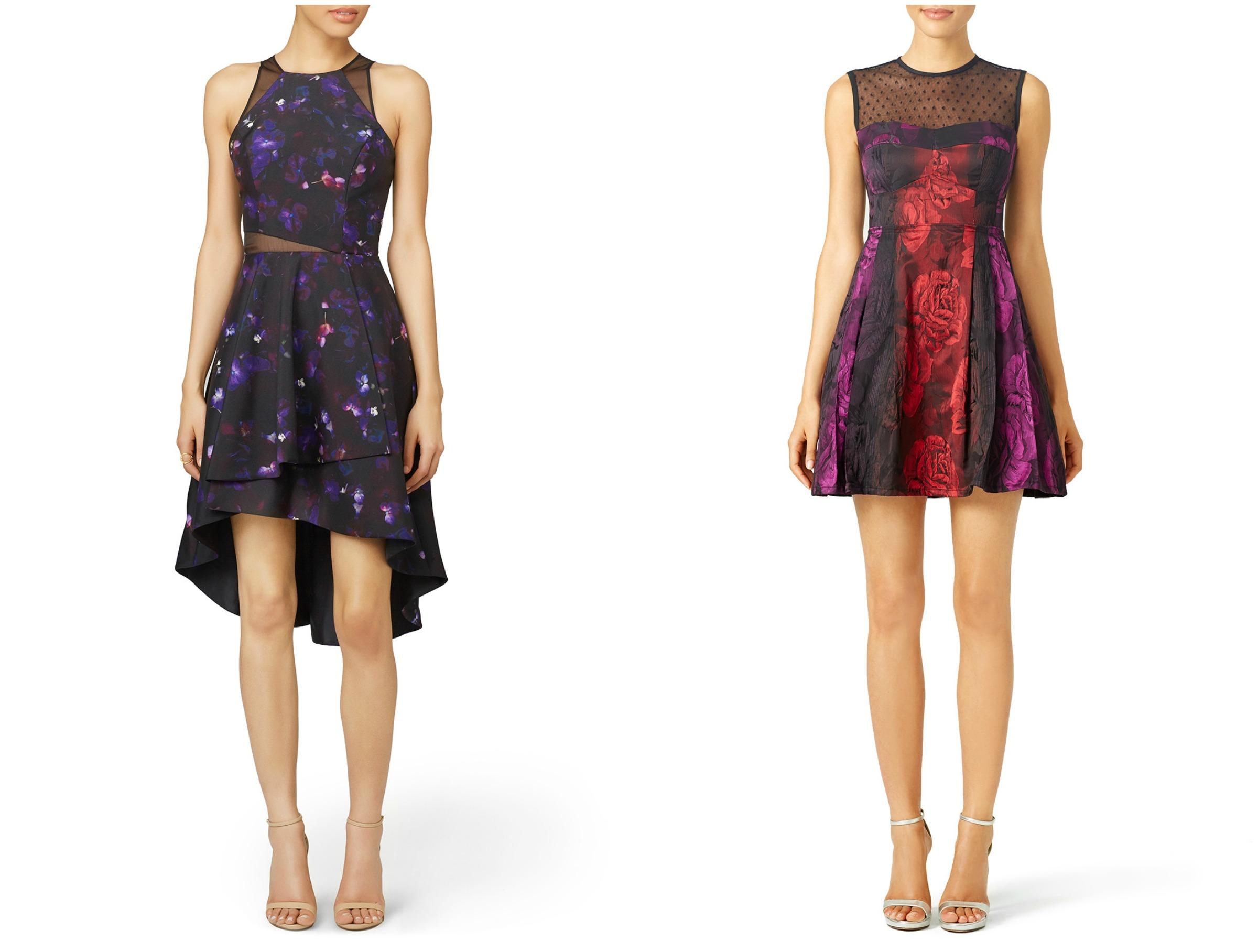 Floral Dress Collage 1