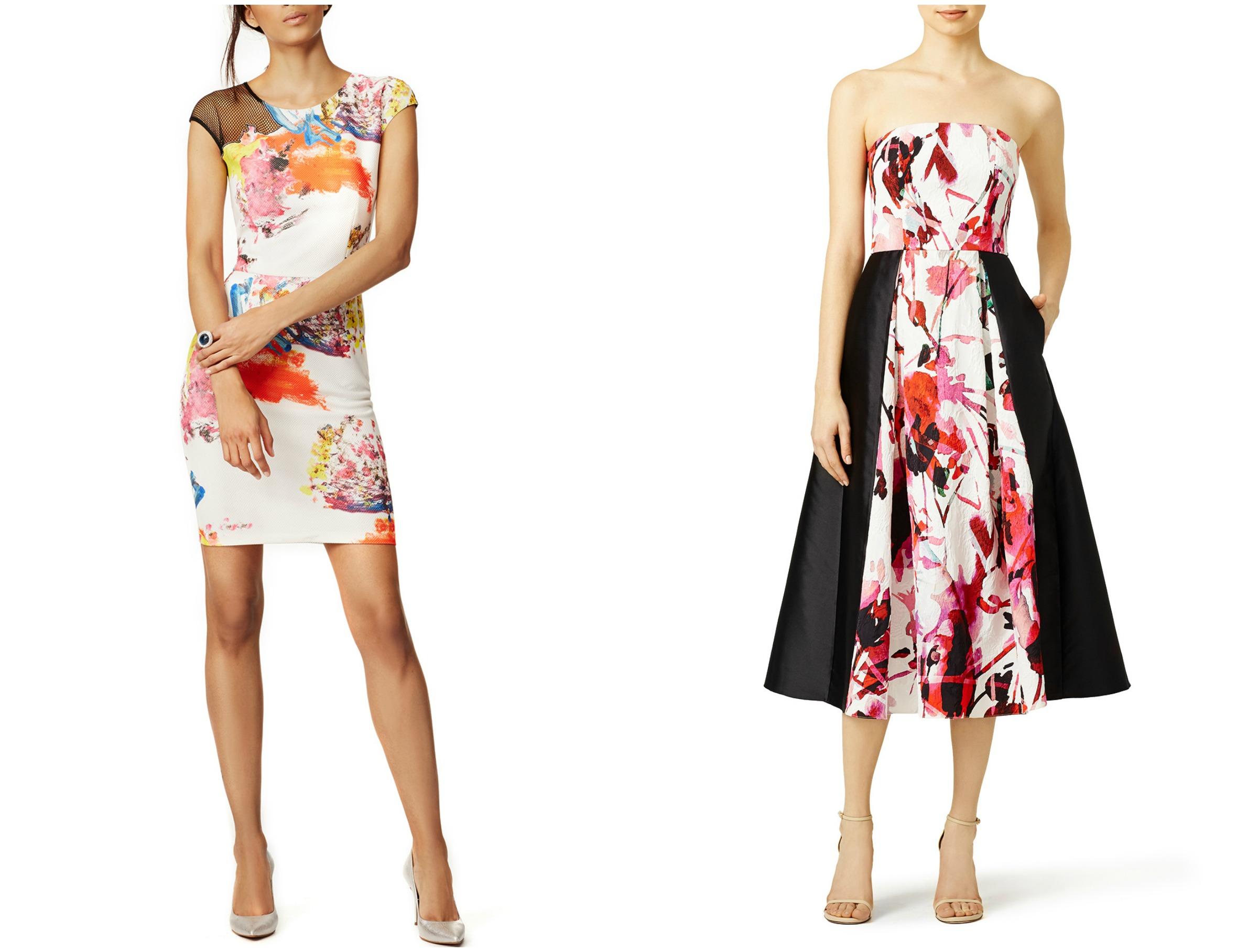 Floral Dress Collage 2