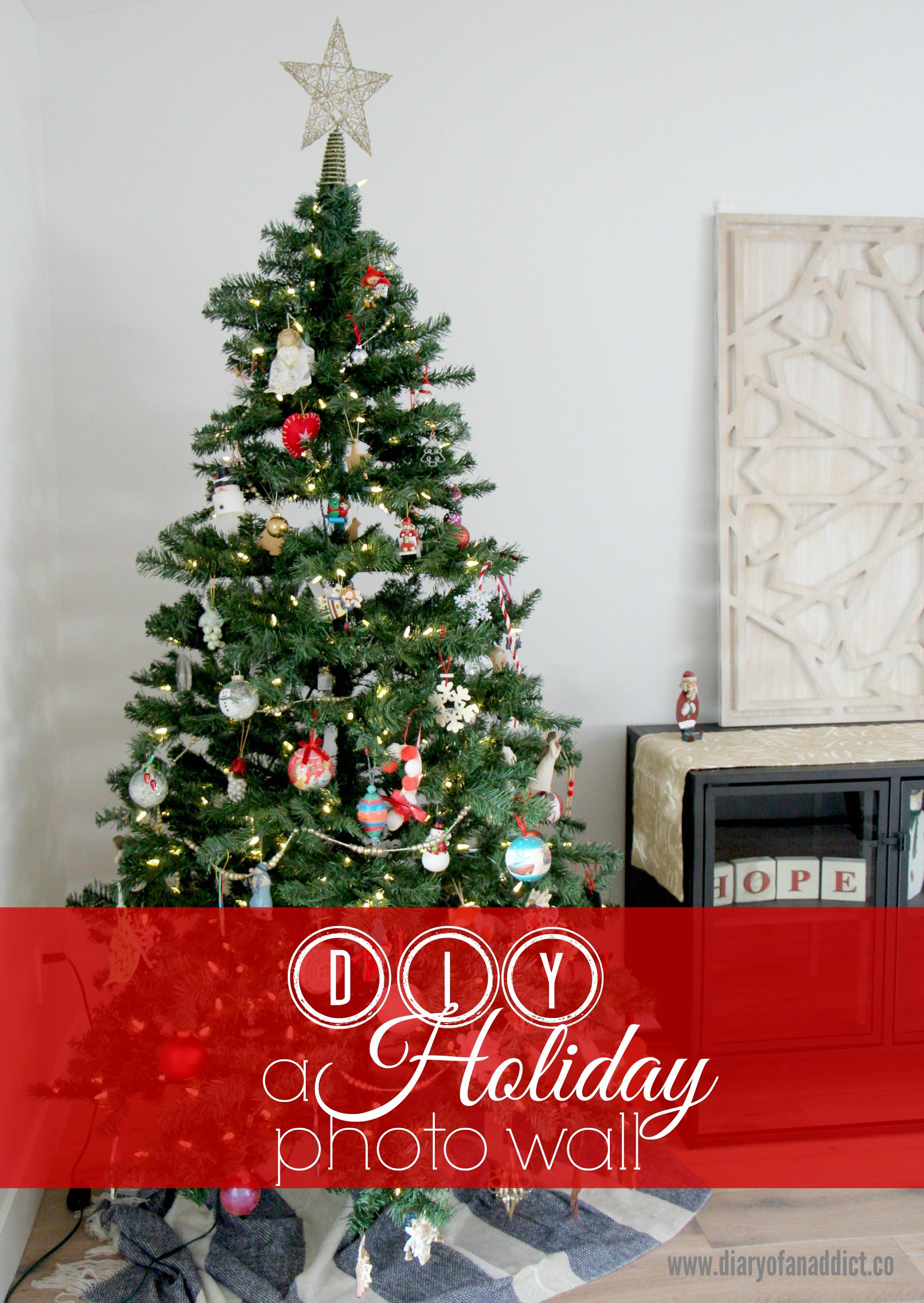 diy-a-holiday-photo-wall
